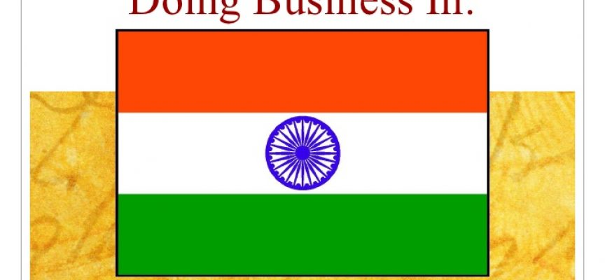 Easing doing business with India