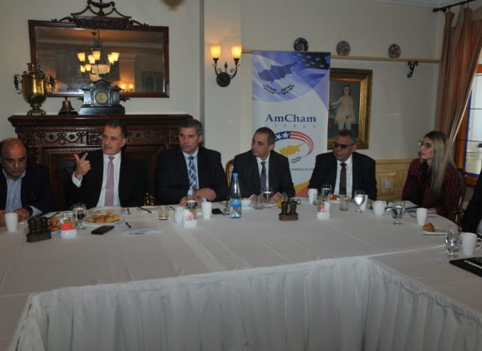 Breakfast with the Minister of Energy, Commerce and Industry